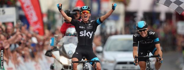 """Peter Kennaugh said it was a """"special result"""" to win the national road race"""