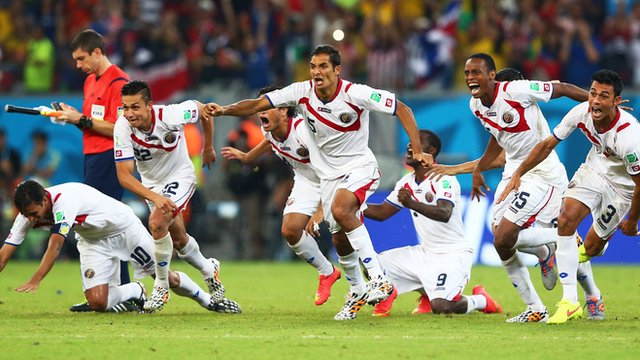 Costa Rica beat Greece via penalties in their round of 16 match