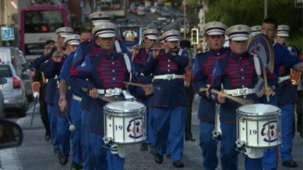 Upper Falls Protestant Boys' band