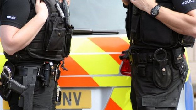 Police Scotland firearms officers