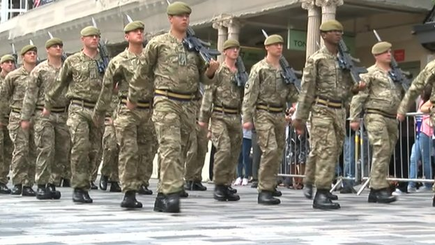 Armed Forces Day in Brighton