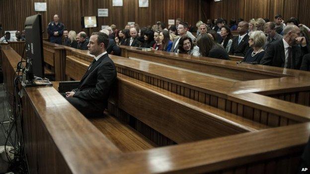 Oscar Pistorius in court (30/06)