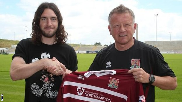 John-Joe O'Toole and Chris Wilder