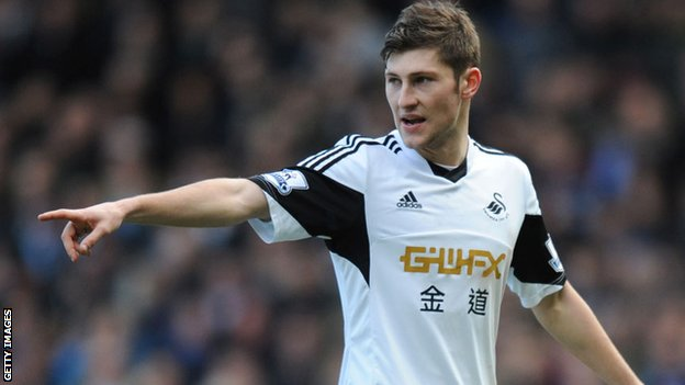 Swansea City defender Ben Davies