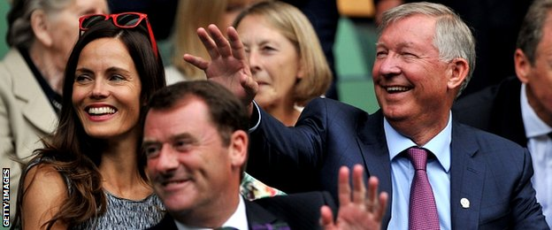 Former Manchester United manager Sir Alex Ferguson