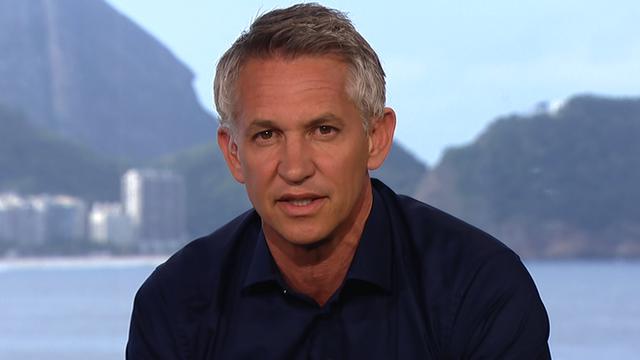 BBC Sport's Gary Lineker