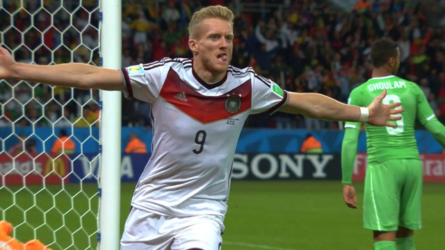 Germany's Andre Schurrle