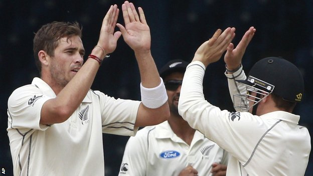 Tim Southee of New Zealand