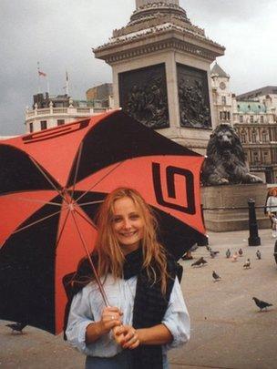 Alicja Gruszka in England