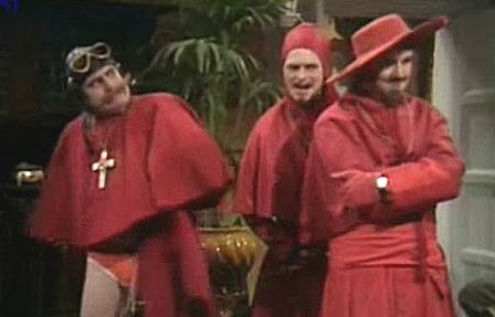 Monty Python's Spanish Inquisition sketch
