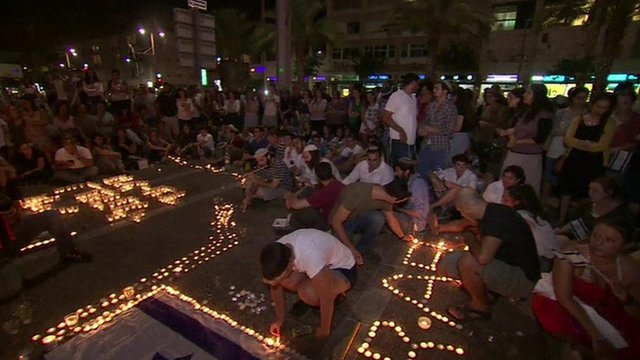 Tel Aviv vigil