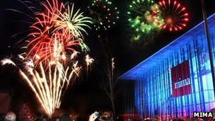 Fireworks at mima. Photo: mima