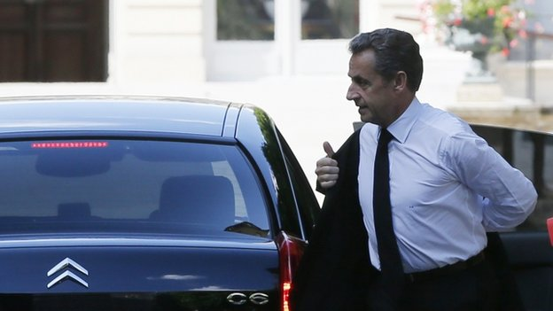 Nicolas Sarkozy (file pic 26 June)