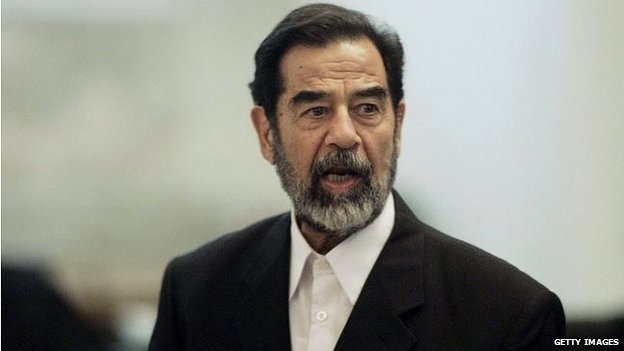 Saddam Hussein on trial (2006)