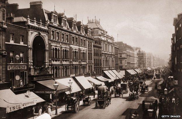 Oxford Street, London 1890