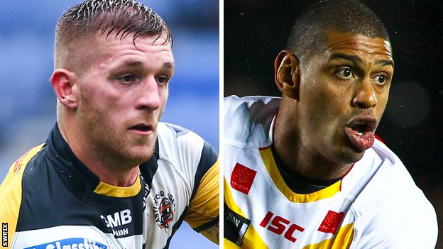 Marc Sneyd and Leon Pryce