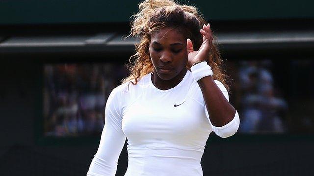 Wimbledon 2014: Serena Williams retires through illness