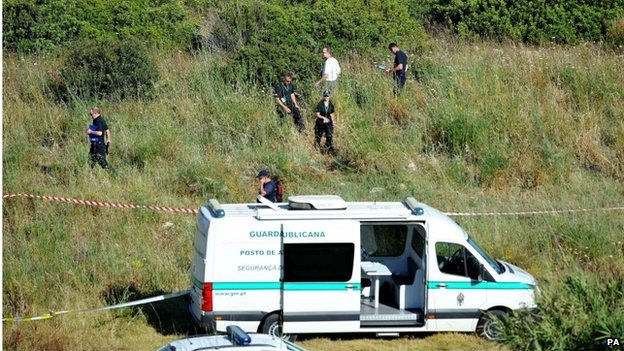 British police searching for Madeleine McCann