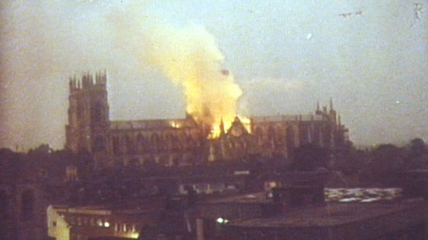 Remembering The York Minster Fire 30 Years On Bbc News