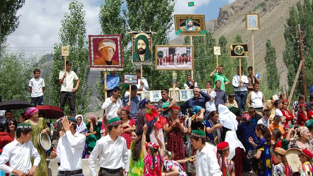 Gorno-Badakhshan's Pamiri population follow the Ismaili branch of Shiite Islam and speak a different language from other Tajiks