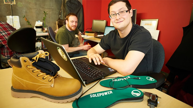 Matt Elliot of SolePower