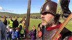 Queen's Baton in Shetland Islands