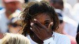 Serena Williams receives medical treatment