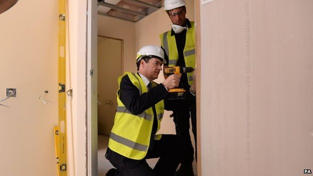 George Osborne set to work on housing development
