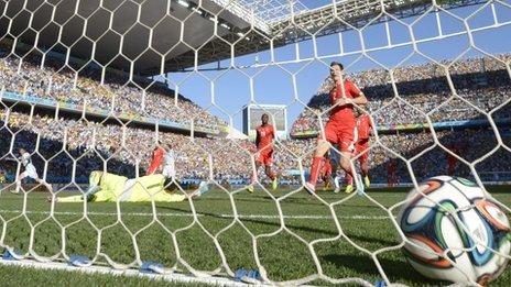 Argentina score