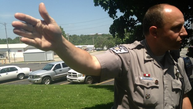 Sheriff Brad DeLay talks about Miller