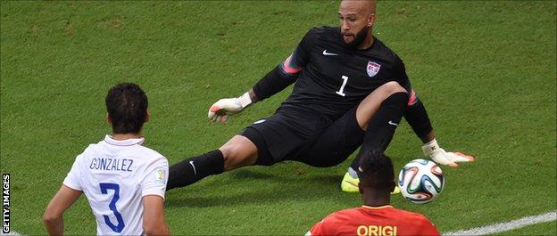 _75982783_howard - WORLD CUP 2014 - World Cup Football | Fifa Soccer