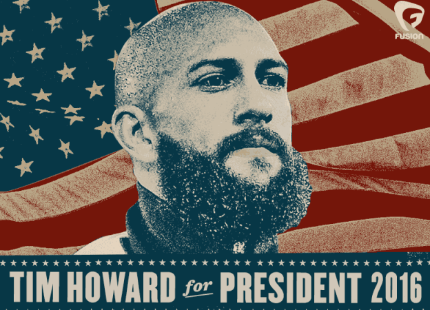 Tim Howard for President mem
