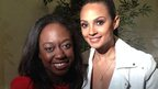 Ayshah and Alesha Dixon