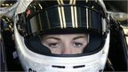 Susie Wolff in Driven: The Fastest Woman in the World