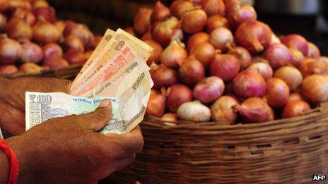 onion stall