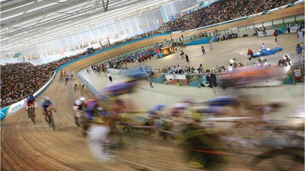 Glasgow indoor velodrome