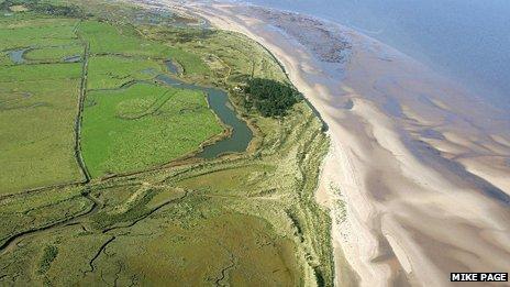 Norfolk Wildlife Trust's Holmes Dunes Nature Reserve
