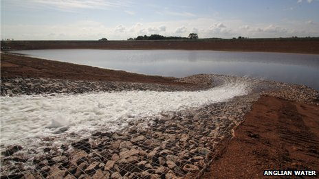 Filling the reservoir