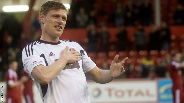 Marius Zaliukas could be facing former club Hearts next season if he can win a move to Rangers