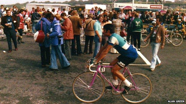Cyclist Raymond Poulidor