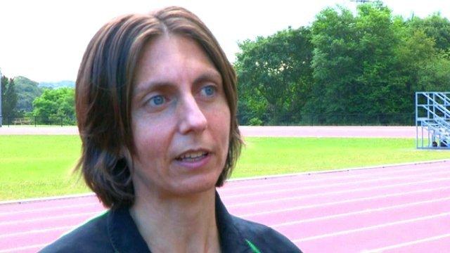 Marathon runner Gladys Ganiel
