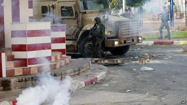 Clashes in Jenin in the West Bank, 2 July
