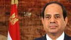 Egypt's President Fattah al-Sisi gives speech on anniversary of Morsi overthrow protests on 30 June