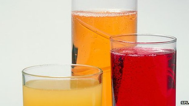 Soft sugary drinks