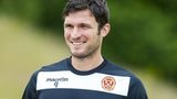 Striker John Sutton is hoping for a cup win this season