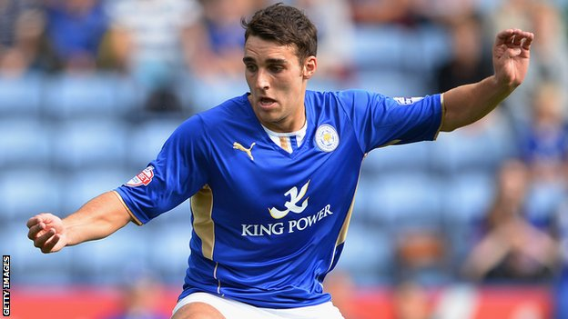 Leicester City midfielder Matty James