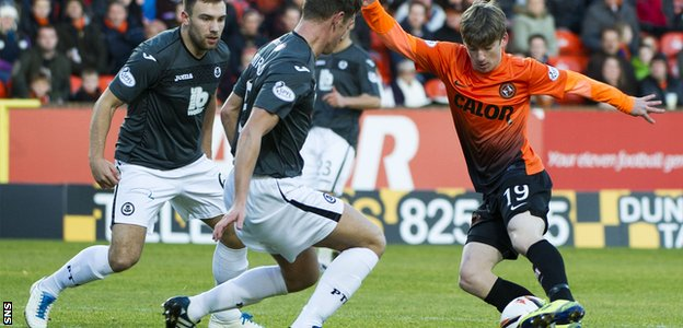 Ryan Gauld has shown his undoubted talent during a remarkable rise to prominence at Dundee United