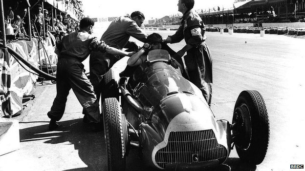 1950 British Grand Prix at Silverstone