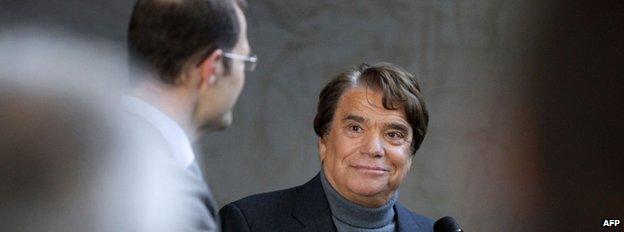 Bernard Tapie (file pic)