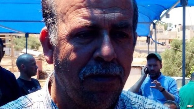 Father of murdered Palestinian, Mohammed Abu Khdair, 3 July 2014